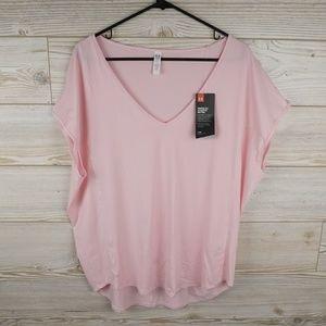 Under Armour Womens Technical T-Shirt PETAL PINK